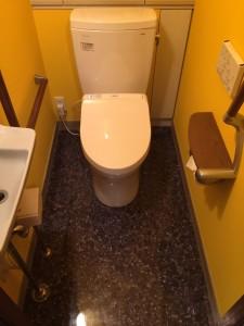 ユニディ竹岸様トイレ、水栓工事完了_170201_0006