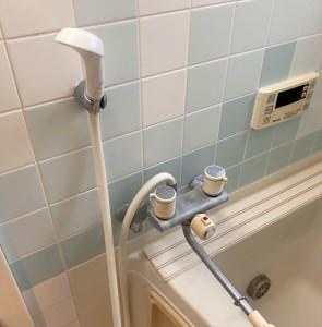 施工前浴室水栓