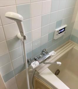 施工後浴室水栓